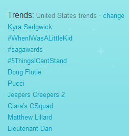 Matthew Lillard Is A Twitter Trend!