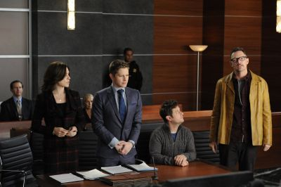Matthew in a promo still for The Good Wife