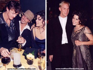 Matthew and Neve at the Scream Premiere and the 98 Oscars