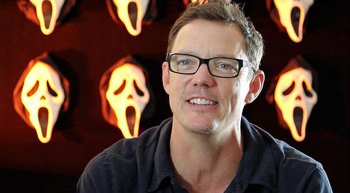 Matthew in the new Scream retrospective documentary