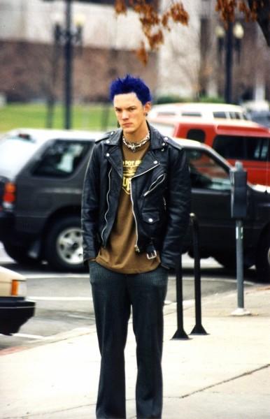 Matthew looking pensive - Punk's Dead